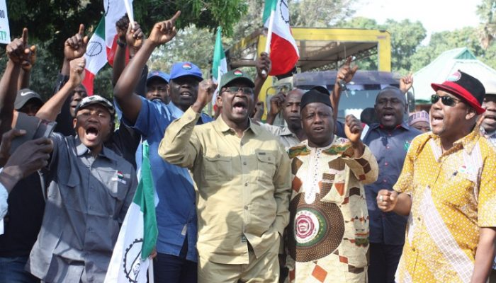 NLC President comrade Ayuba Wabba leading primary trs sacked in kd